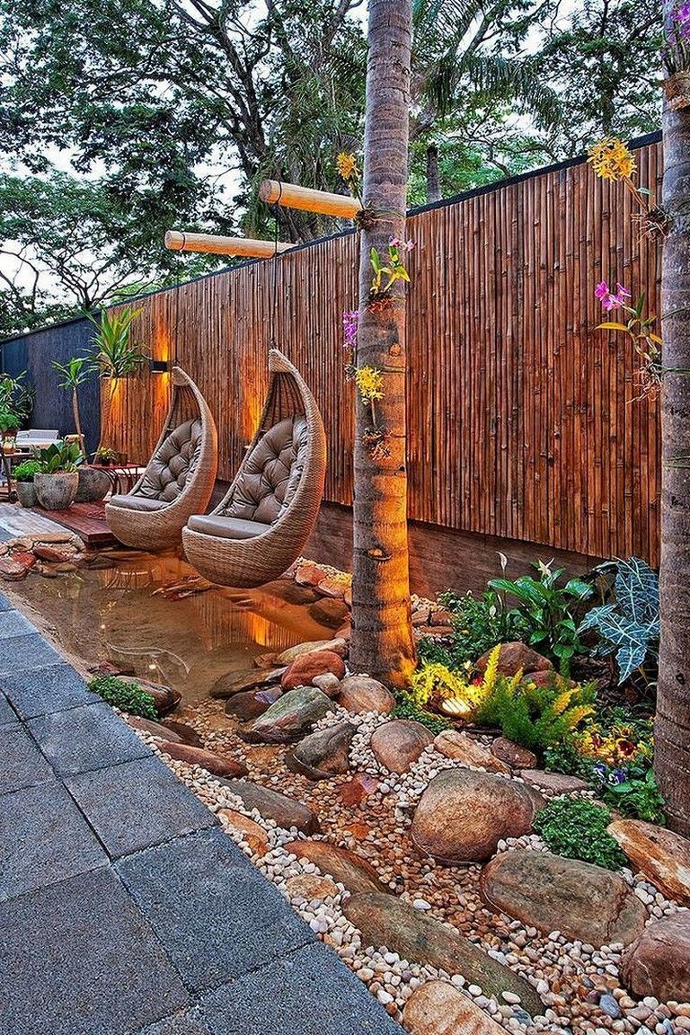 35 Exciting Backyard And Front Yard Landscaping Design For Your Dream House