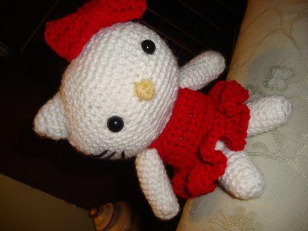 Free Amigurumi Patterns Hello Kitty : Hello kitty amigurumi amigurumi patterns hello kitty and kitten