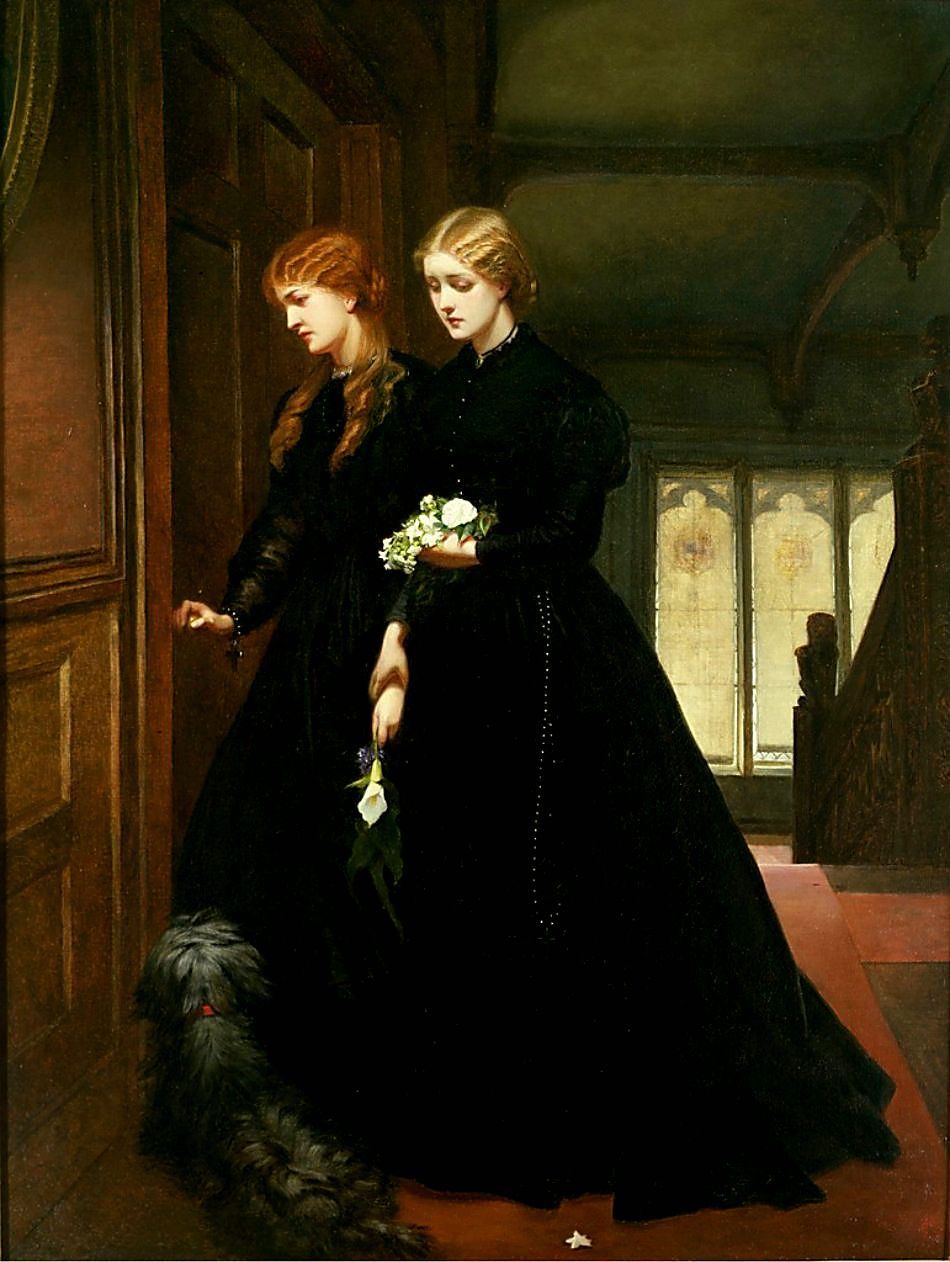 For the Last Time, oil on canvas 1864, by Emily Mary