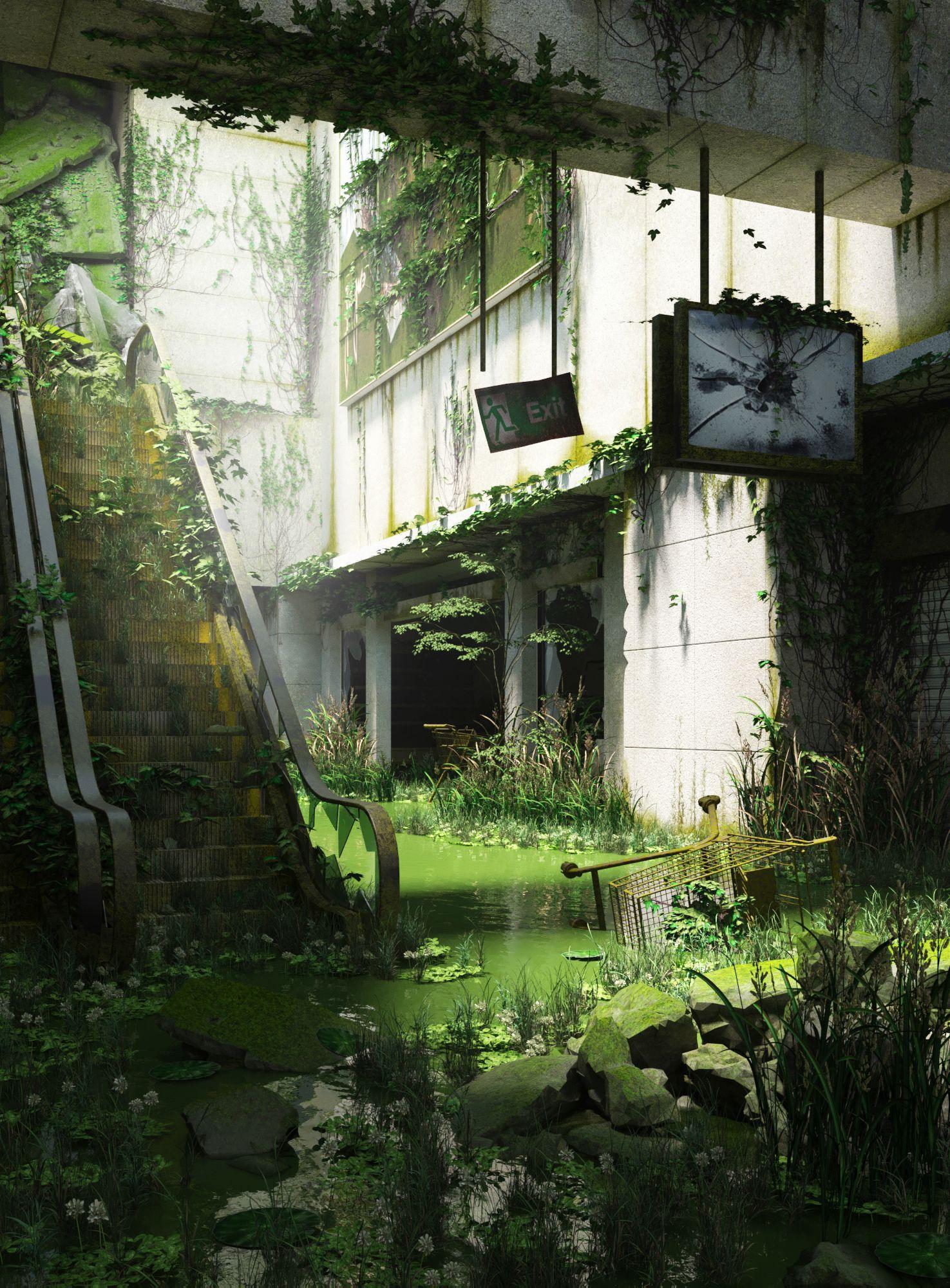 Post-apocalypse #abandonedplaces