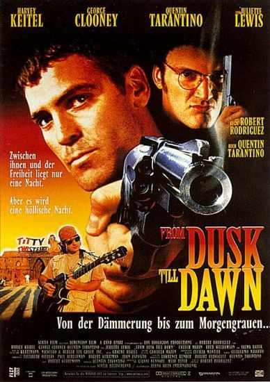 From Dusk Till Dawn Dawn Movie Vampire Movies Horror Movie Posters