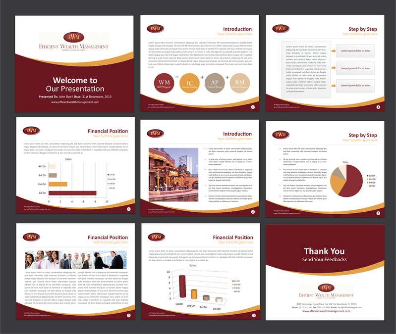 Creative and elegant Powerpoint Template needed for PowerPoint ...
