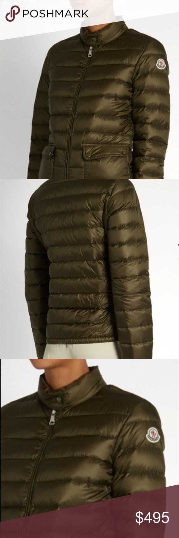 "Moncler ""Lans"" Jacket - Khaki Green Moncler Khaki Green ""Lans"" jacket."