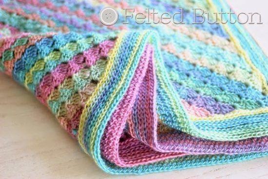 Spring Into Summer Crochet Blanket | Handarbeiten