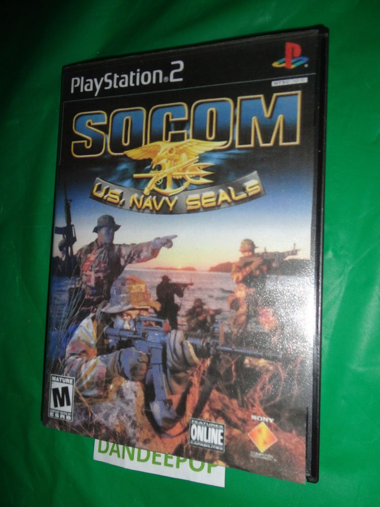 Playstation 2 PS2 SOCOM U S  Navy SEALs Video Game find me