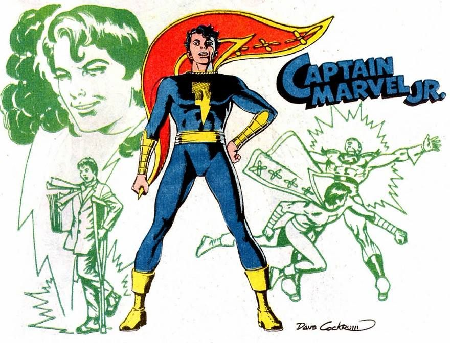 Captain Marvel Jr By Dave Cockrum Davidcockrum Captainmarveljr