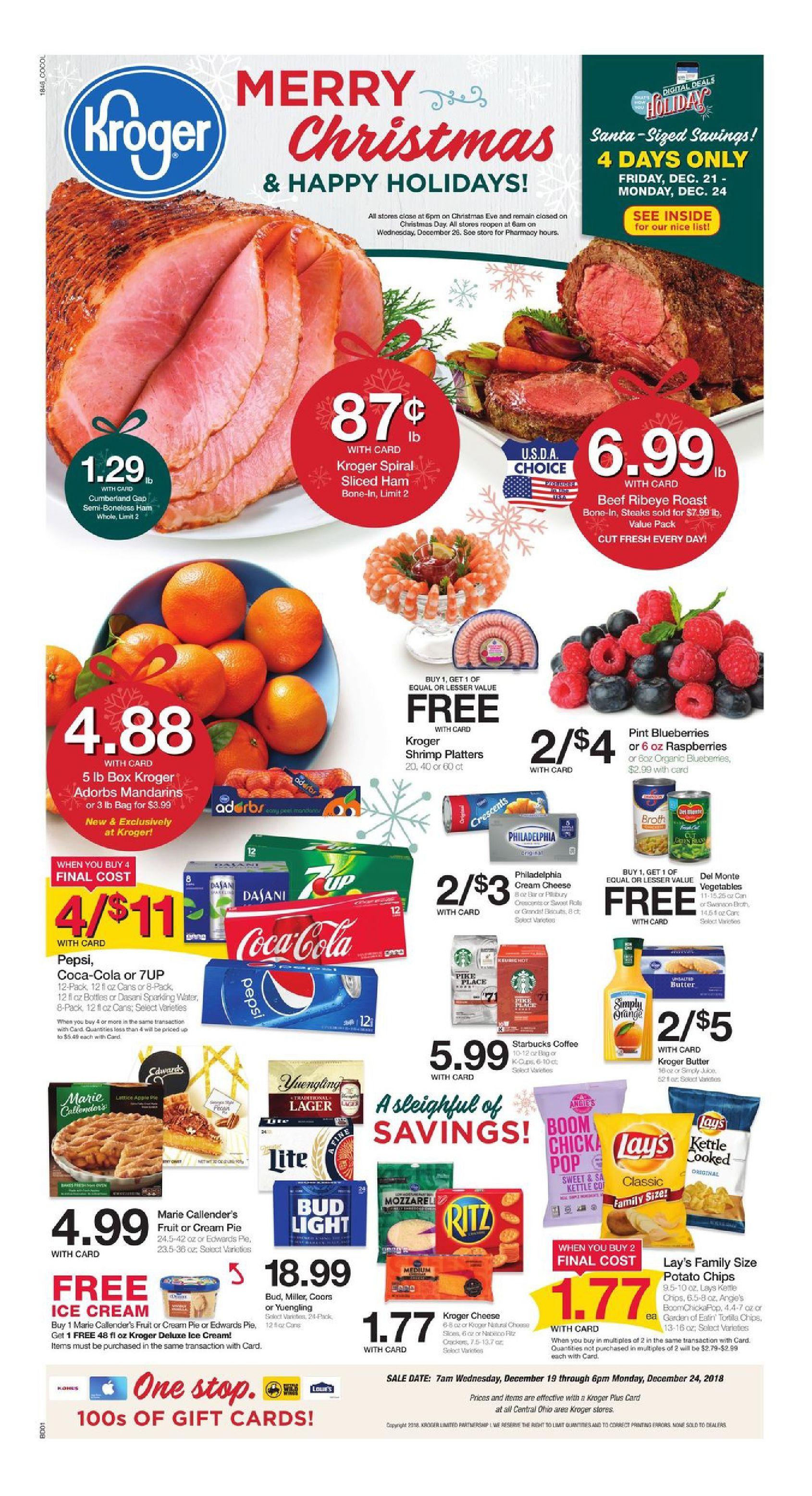 Kroger Weekly Ad Flyer March 11 17 2020 Weeklyad123 Com Grocery Ads Grocery Kroger