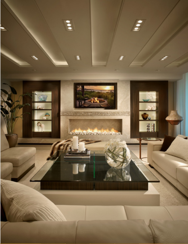 most beautiful living rooms room leather sets 10 designs basement 2 contemporary