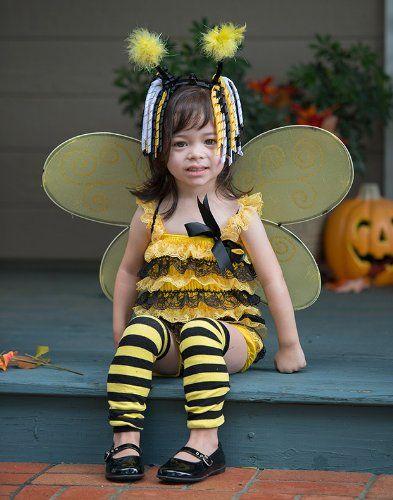 Yellow Striped Bee Leg Warmers