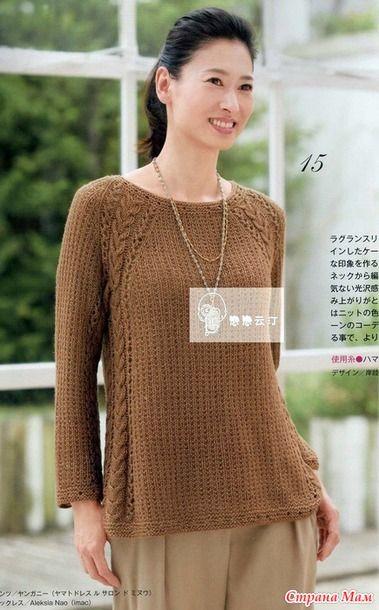 записи в рубрике вязание пуловер