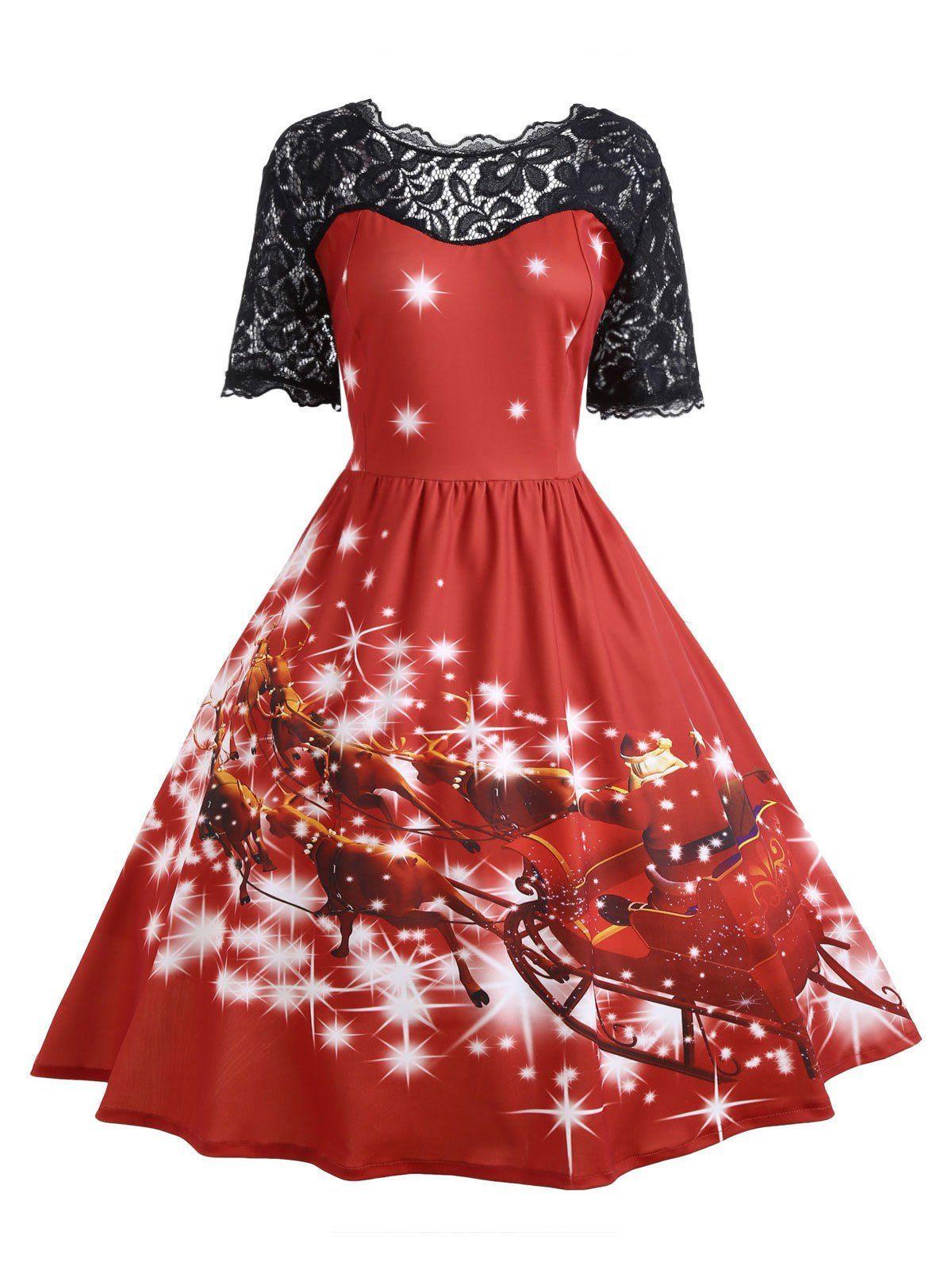 d0ef196e0d263 vestido navidad. Talla grande Vestidos Navideños