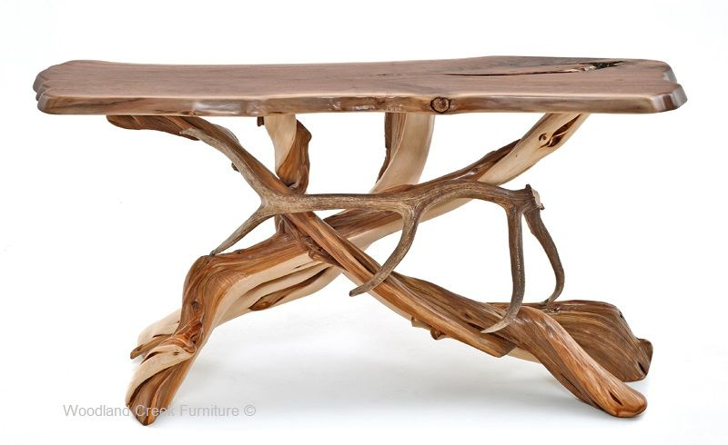 Fine Log Sofa Table Antler Sofa Table Lodge Console Table Alphanode Cool Chair Designs And Ideas Alphanodeonline