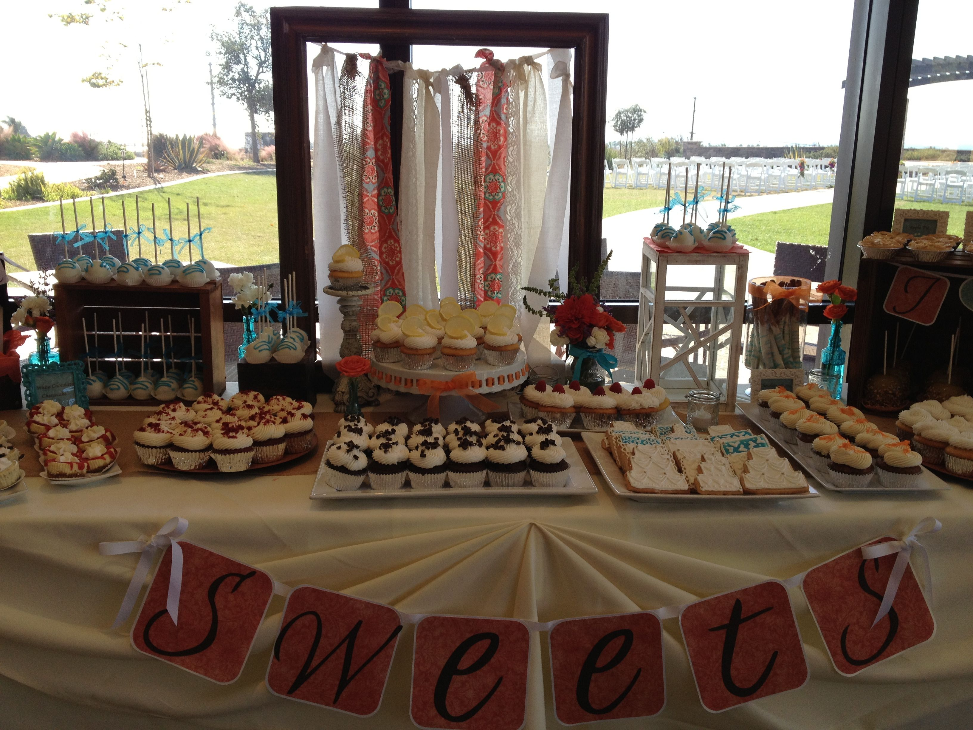 Rustic Chic Wedding Snack Table Wedding Snacks Wedding Table