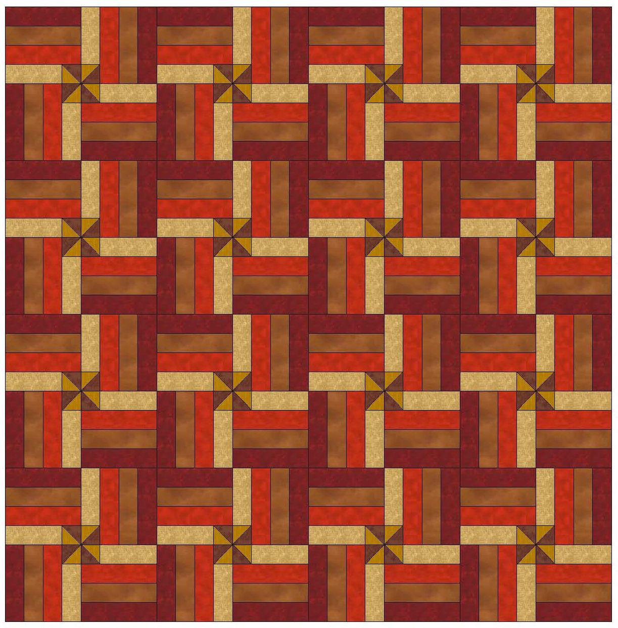 Rail Fence Quilt Variations | Pdf Quilt Pattern Baby Blocks Hree ... : rail fence quilt block - Adamdwight.com