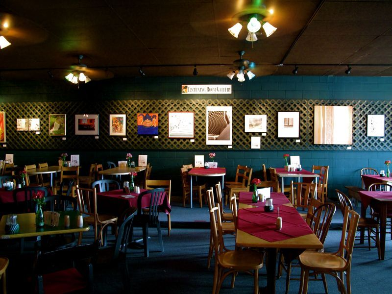 Tap your toe to the beat of songwriter night at Ashland Coffee and Tea, Ashland, VA #ridecolorfully #katespadeny and #vespa