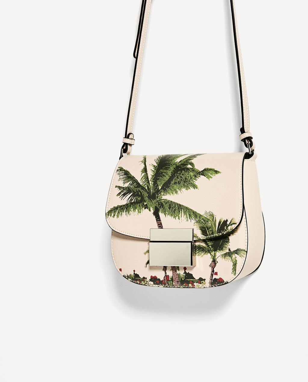 c191242c26 PALM TREE PRINT CROSSBODY BAG-View all-BAGS-WOMAN | ZARA Japan ...