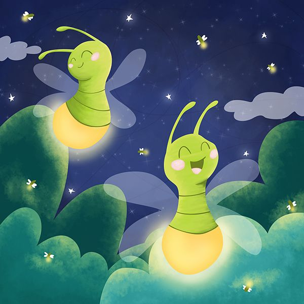 Fireflies by Vero Parra