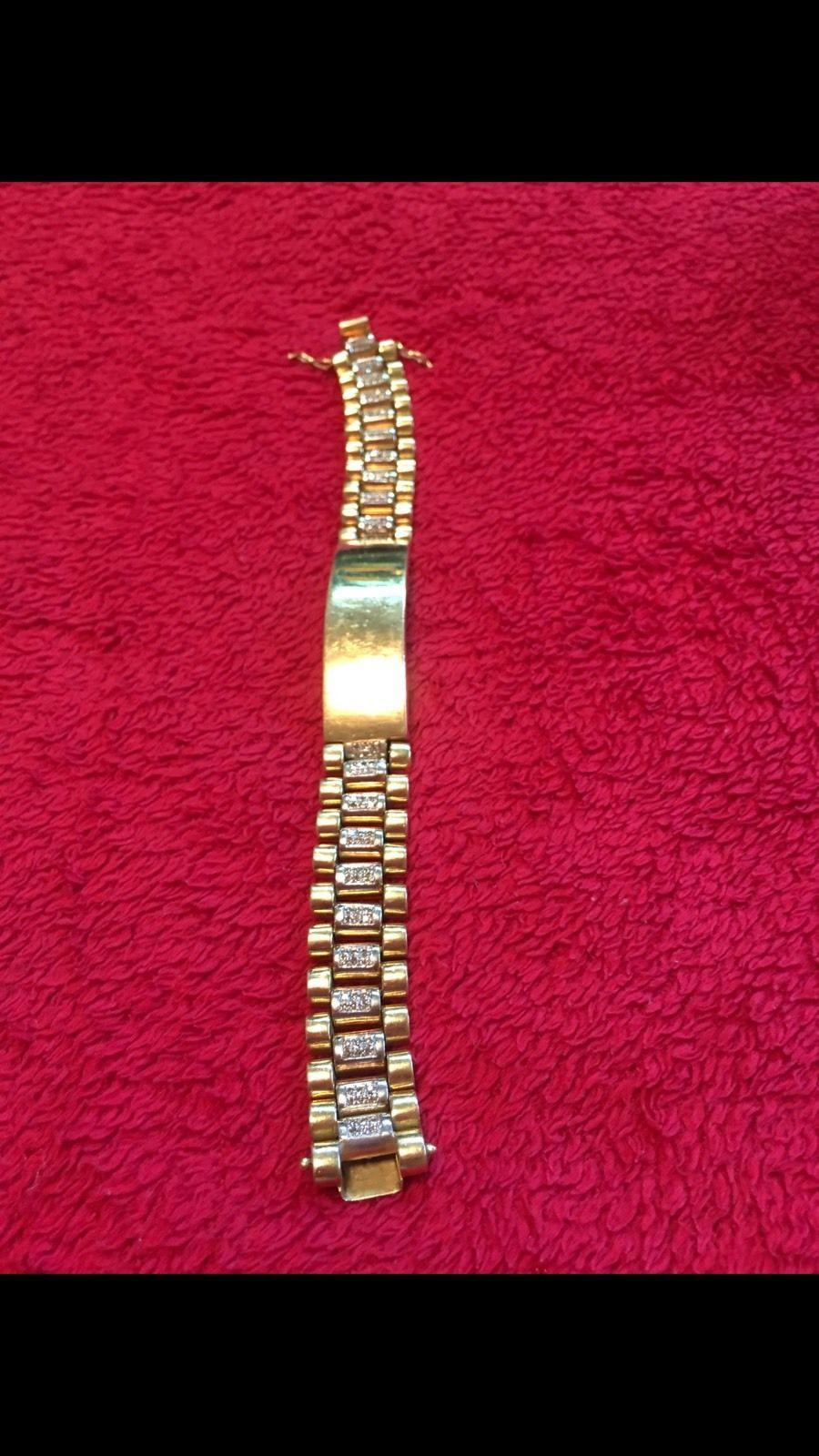Cool awesome mens bracelet grams diamondsk goldry