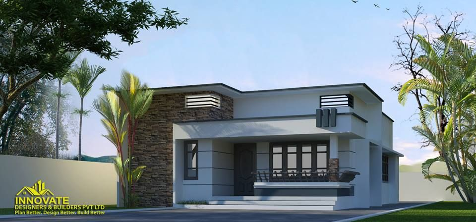 2 Bedroom Beautiful Home Plan For Just 10 Lakh In 612 Sq Ft