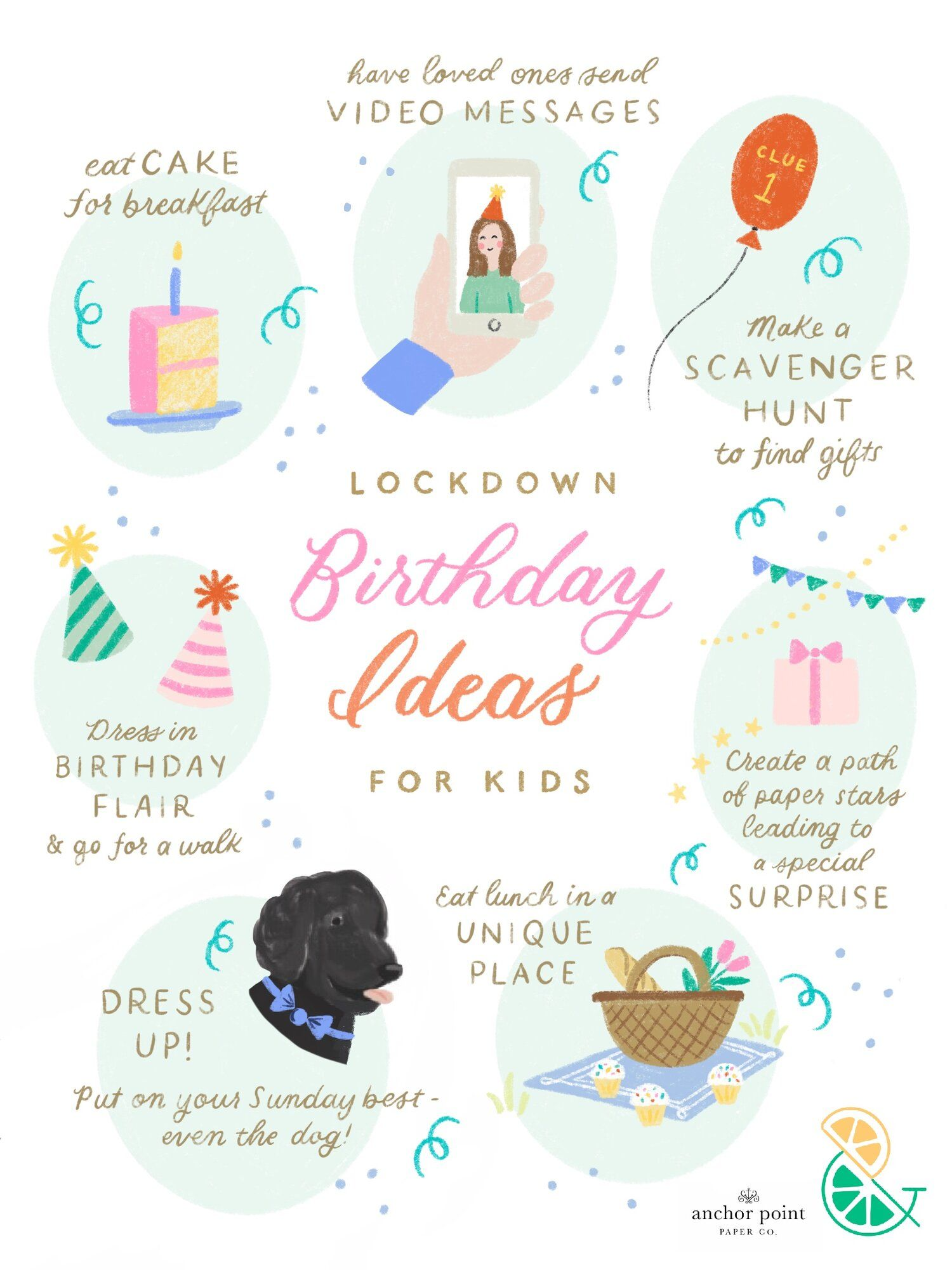 Lockdown Birthday ideas for Kids! in 2020 Kids birthday