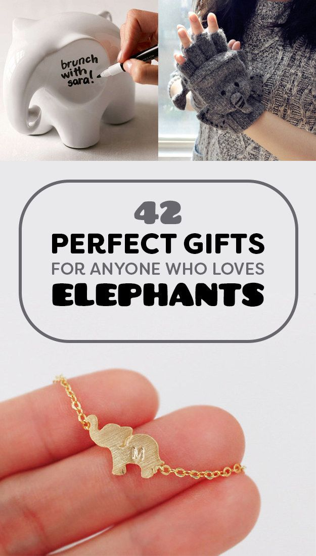 42 Gifts Every Elephant Lover Will Want To Get This Year