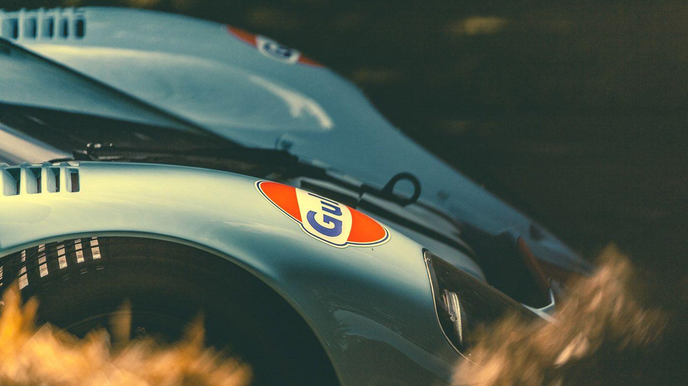 Porsche 917 Gulf, at FOS. (Peter Aylward)