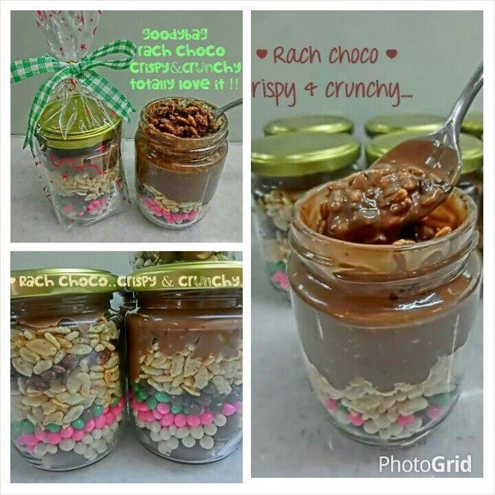 Rach Choco In Jar Crunchy Crispy Sms Wa 08128055578 Resep Makanan Resep Makanan