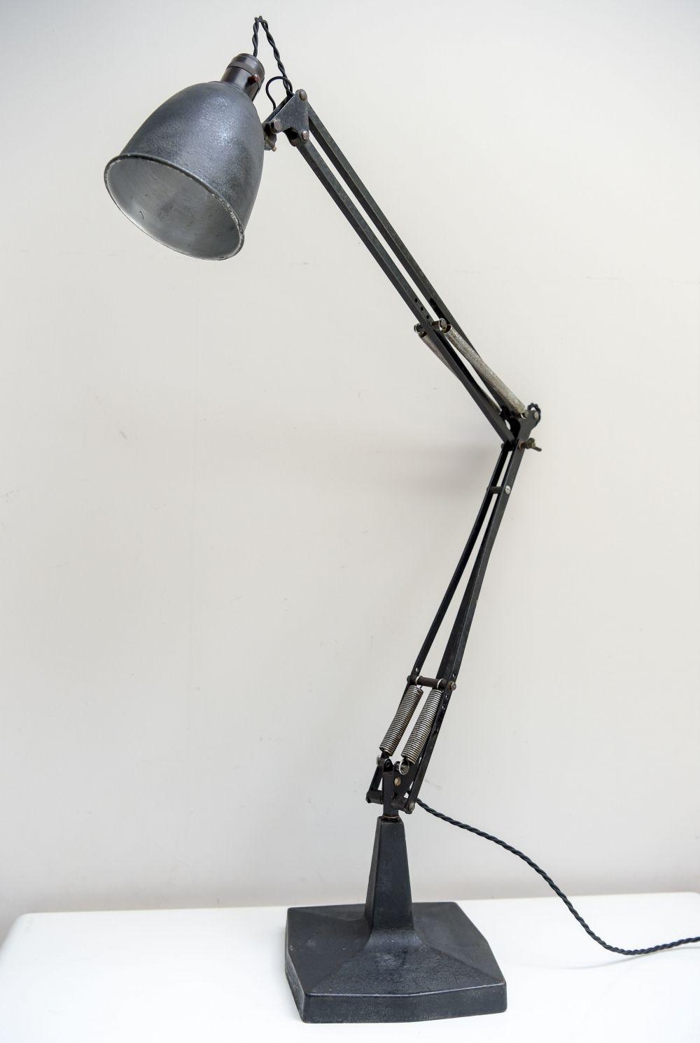 For sale Rare Tall Base Model 1208 Anglepoise Desk Lamp