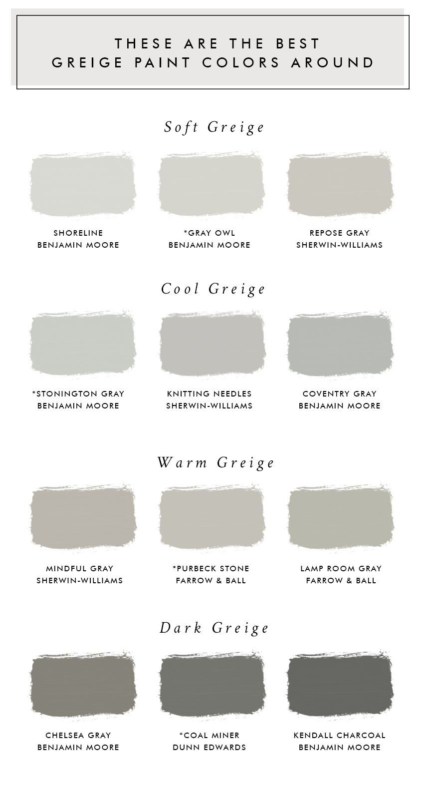 These Are The Best Greige Paint Colors Around images