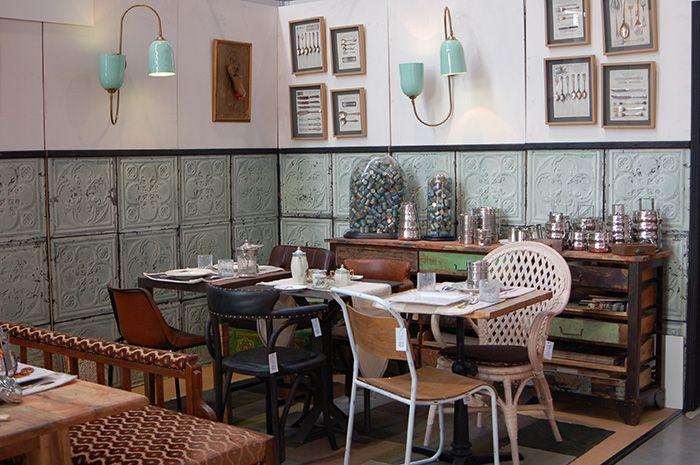 Mobiliario para hoteles y restaurantes de la firma for Mobiliario para cafes