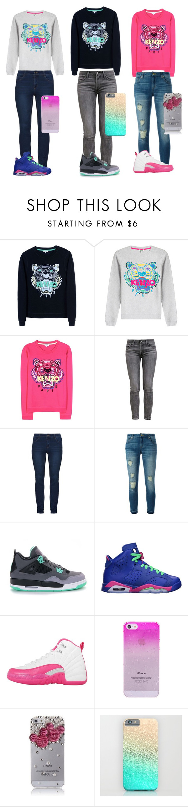 """pick your fave"" by official-bria-j ❤ liked on Polyvore featuring Kenzo, Levi's, MICHAEL Michael Kors, Retrò and NIKE"