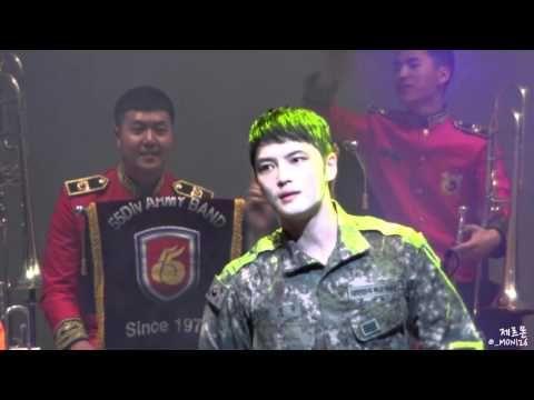 160415 재중 - 붉은 노을 (Jaejoong - Sunset Glow) @광주 군악대 순회공연
