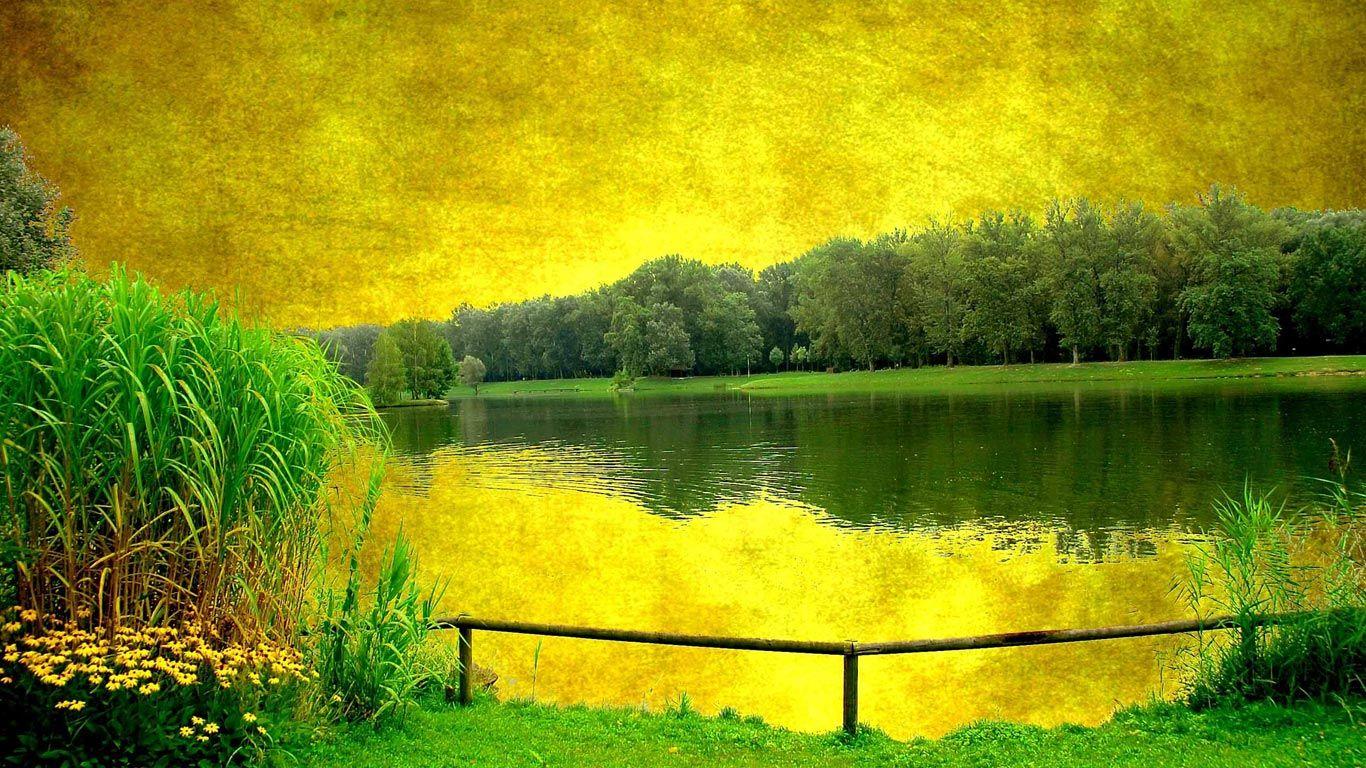 Downloads Wallpaper Landscape Wallpaper Beautiful Landscape Paintings Scenery Wallpaper