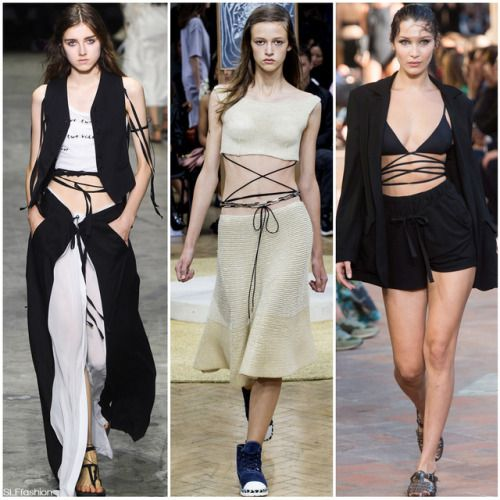 Buy Lacing: crisscross the new spring fashion trend pictures trends