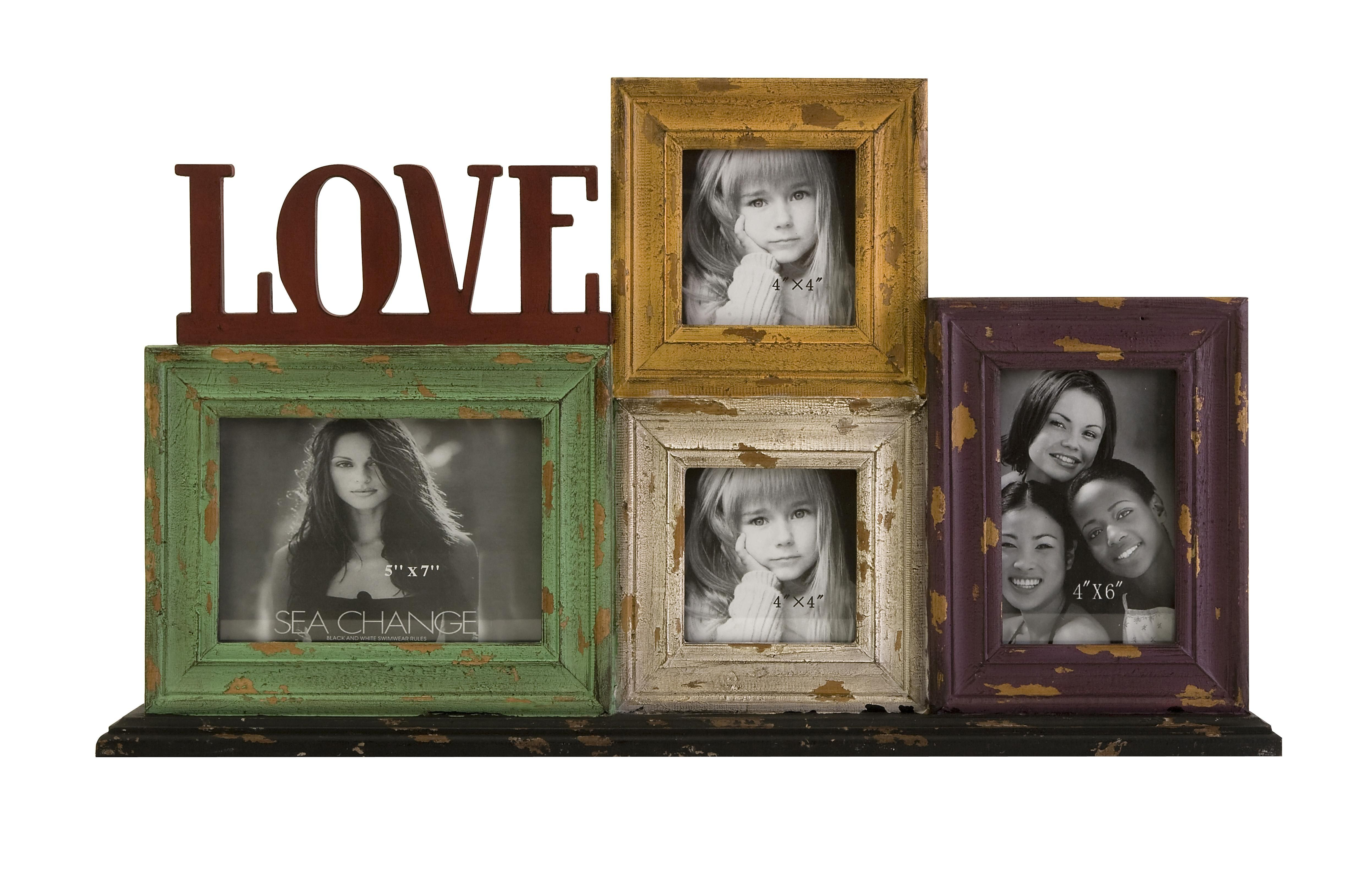 picture collage frames | Love Frame Collage by OJ Commerce 74025 ...