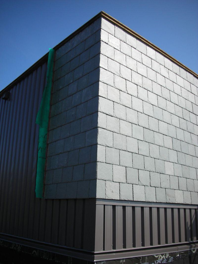 Slate Wall Cladding | Façade bois, fibro ciment ou métallique ...