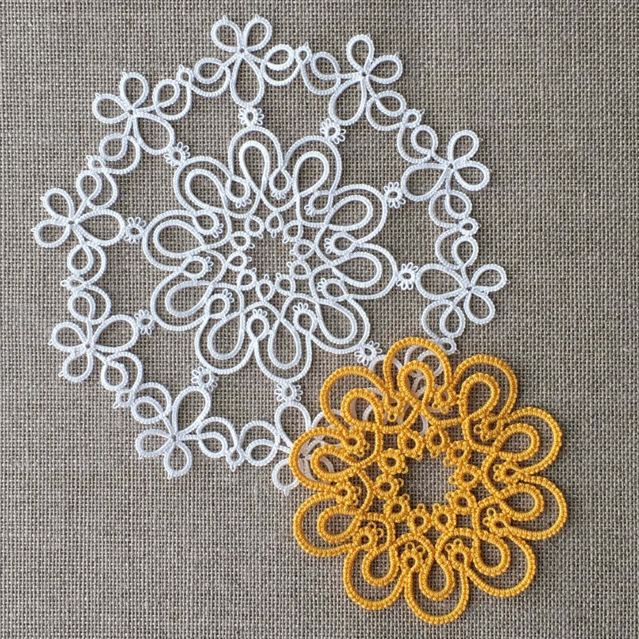 needle tatting how to follow a pattern