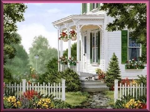 flowers, charm, inviting . . .