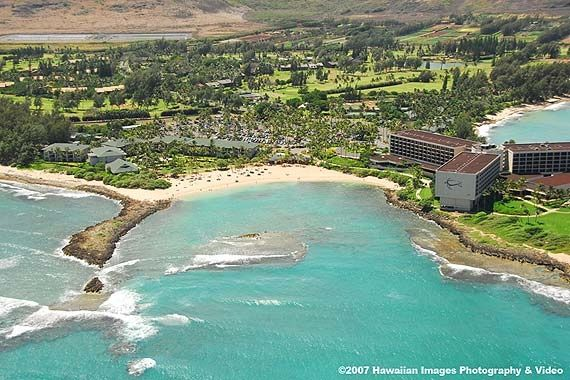 Turtle Bay Resort Beach Oahu Hawaii