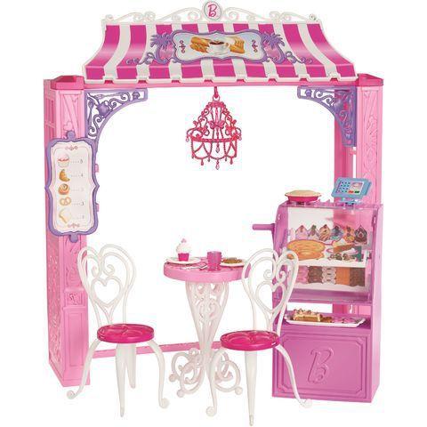 Boutique De Malibu Avenue Salon De The Moinschers Net Barbie Jouet Poupees Barbie