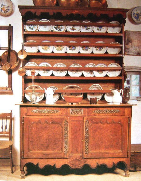 Vaisselier saintongeais meubles pinterest vaisselier - Vaisselier le bon coin ...