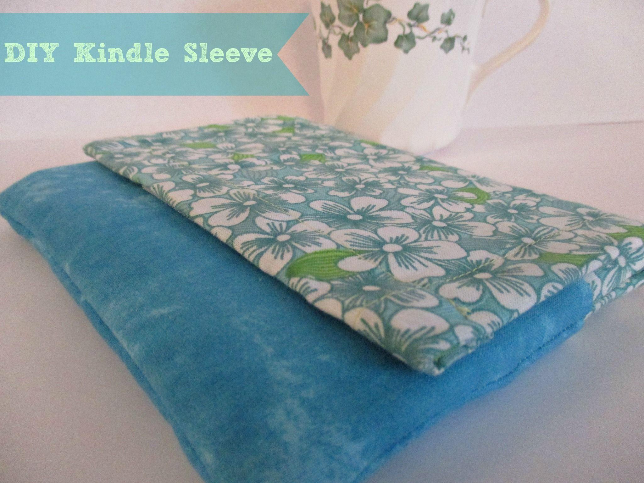 DIY Kindle Sleeve and Coffee | Kindle sleeve, Kindle, Free ...