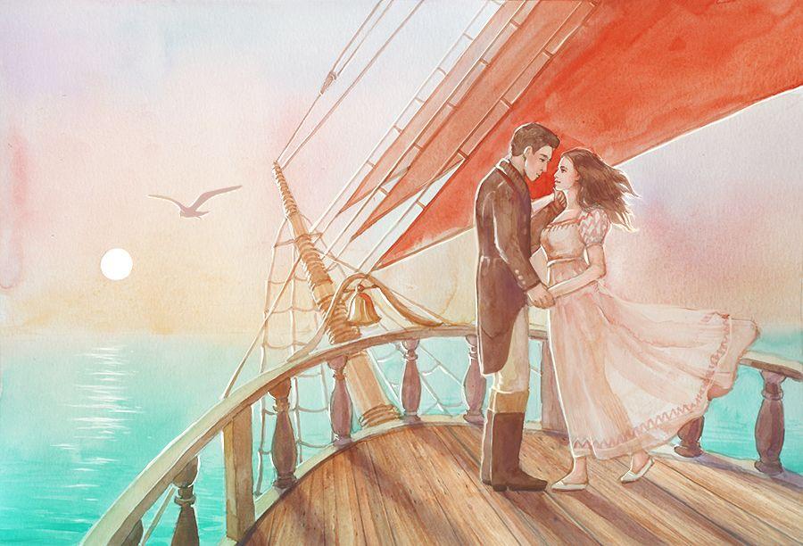 картинки к фанфику ветер в мои паруса твоя