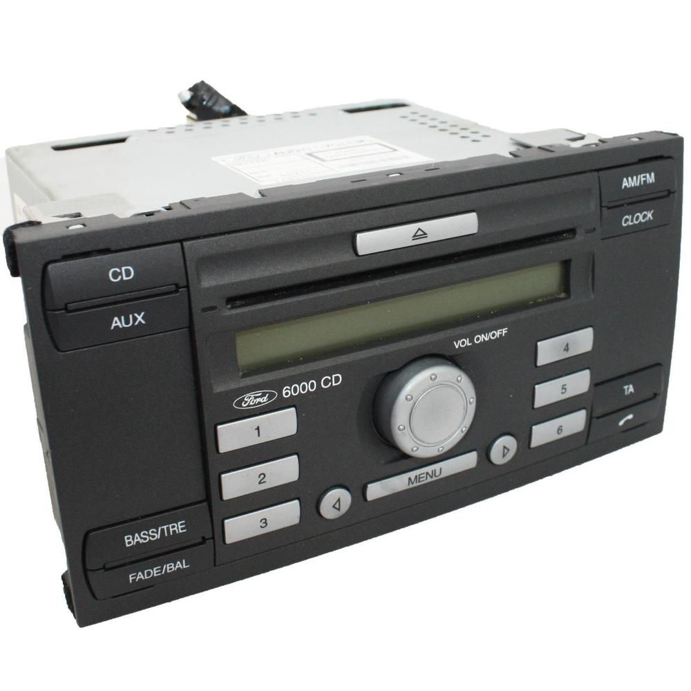 ford 6000cd car stereo radio head unit cd player rds oem. Black Bedroom Furniture Sets. Home Design Ideas