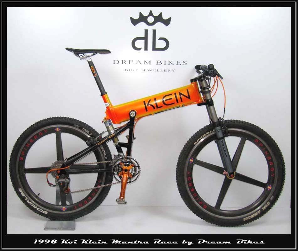 1998 klein mantra race by tremor mountain bike mtb. Black Bedroom Furniture Sets. Home Design Ideas