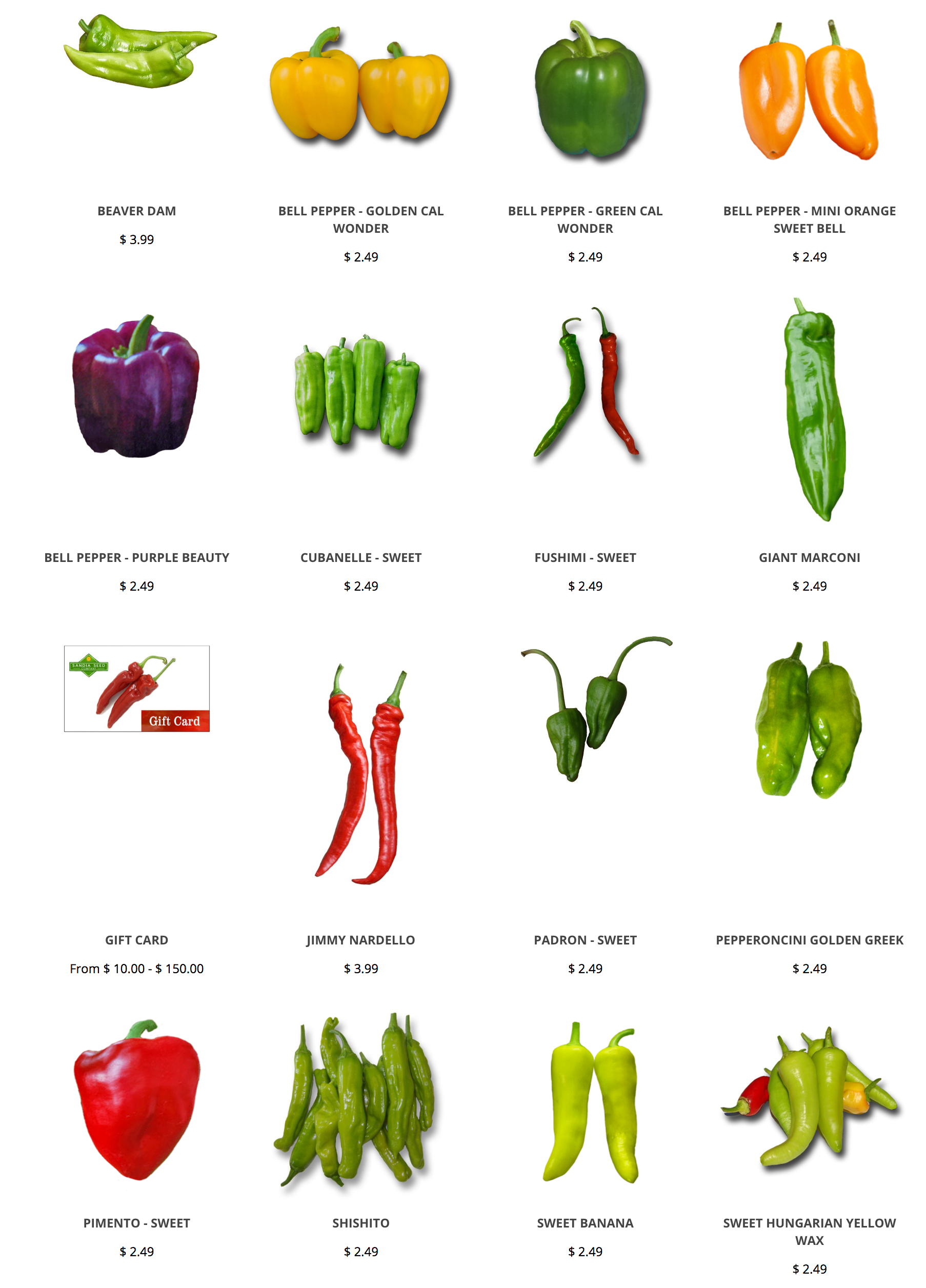 Sweet Pepper Seeds Try All Of Our Delicious Varieties Plus Make Sure To Check Out Our Hatch Chile Seeds Stuffed Peppers Stuffed Sweet Peppers Pepper Seeds