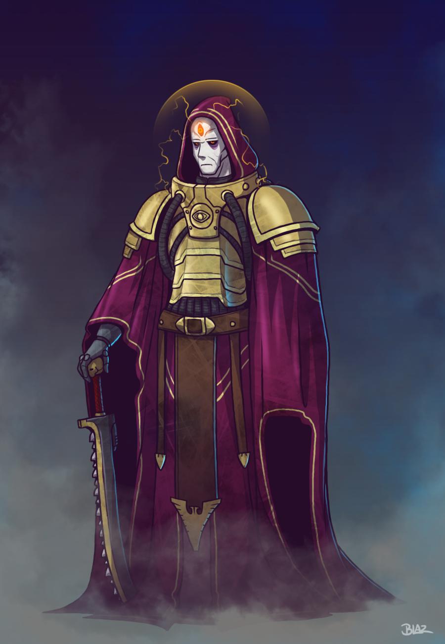 navigator wilhelm by blazbaros warhammer warhammer 40k artwork warhammer 40k warhammer 40k artwork