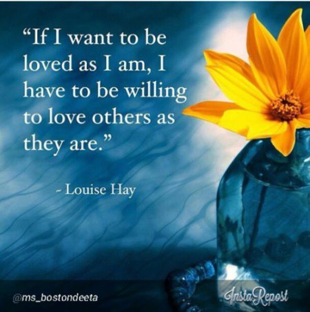 Love and Be Loved…