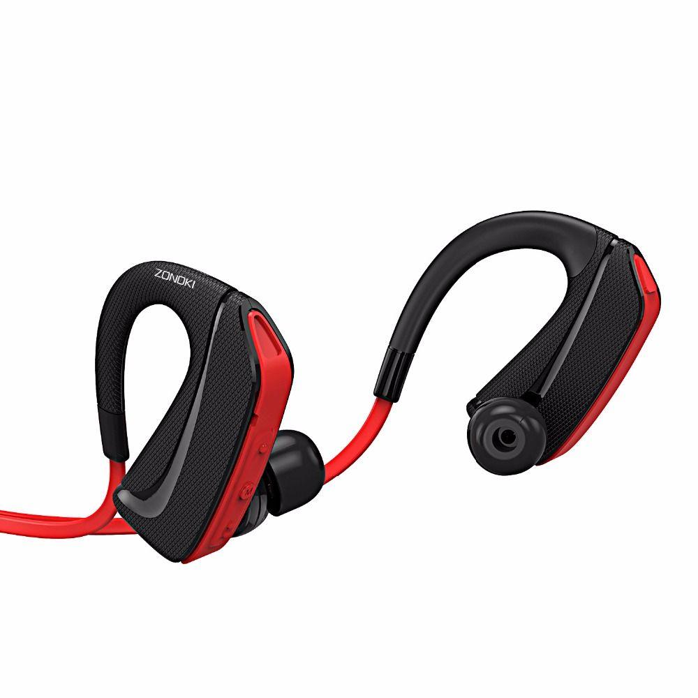 HM168 Streamline Ear - hook Wireless Bluetooth Handsfree Earphone Stereo  Sound In - ear Headset with