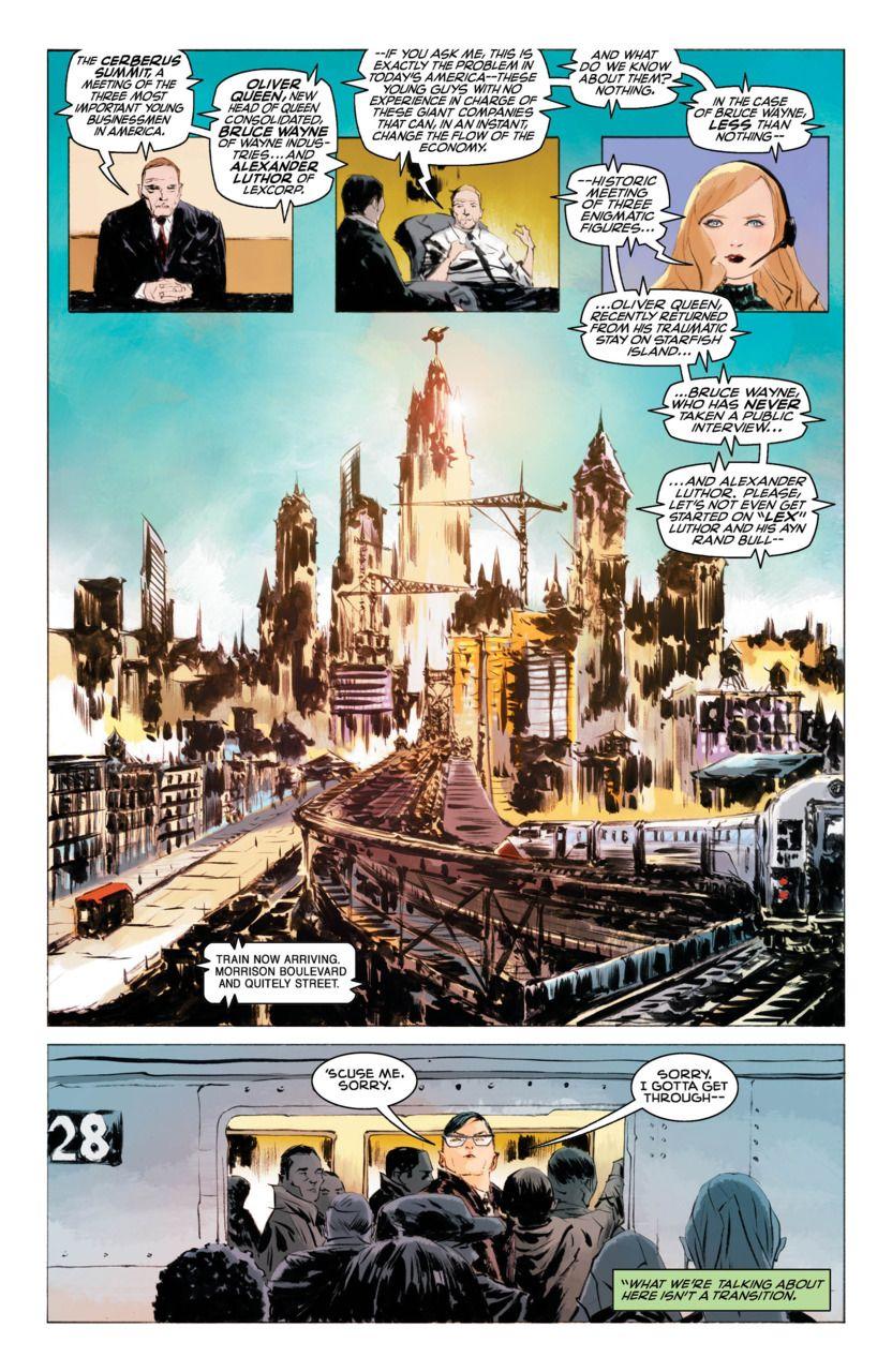 Preview Superman American Alien 4 Superman Comic Illustration Comics